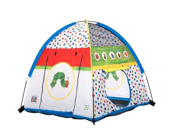 퍼시픽 플레이 배고픈 애벌레 텐트 Pacific Play Tents Very Hungry Caterpillar Tent 72032