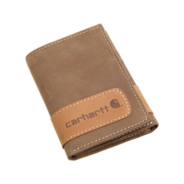 칼하트 투톤 남성지갑 Carhartt Mens Two Tone Trifold Wallet