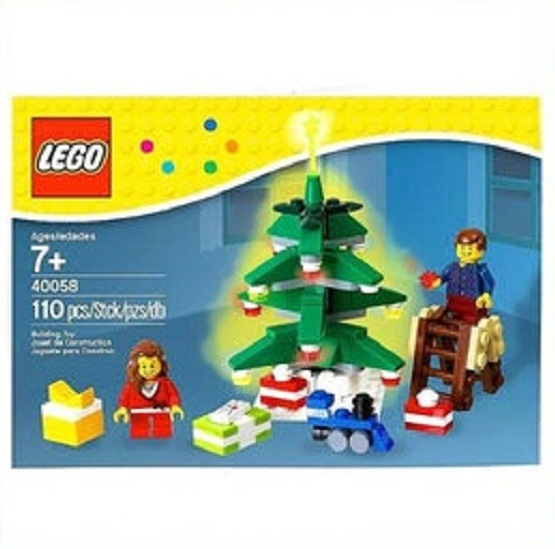 레고/크리스마스 트리/Lego 40058 Decorating the Tree Set 110 Pc. Holiday 2013